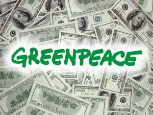 green peace and money